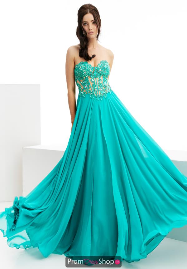 Jasz Couture Beaded Long Dress 6022