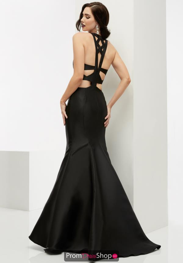 Long Black Jasz Couture Dress 6064