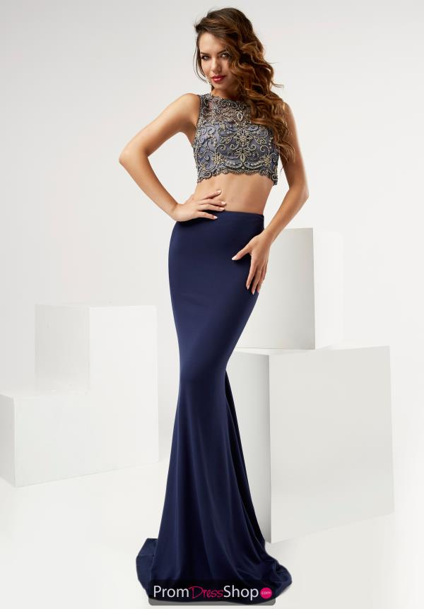 Jasz Couture Beaded Long Dress 6112