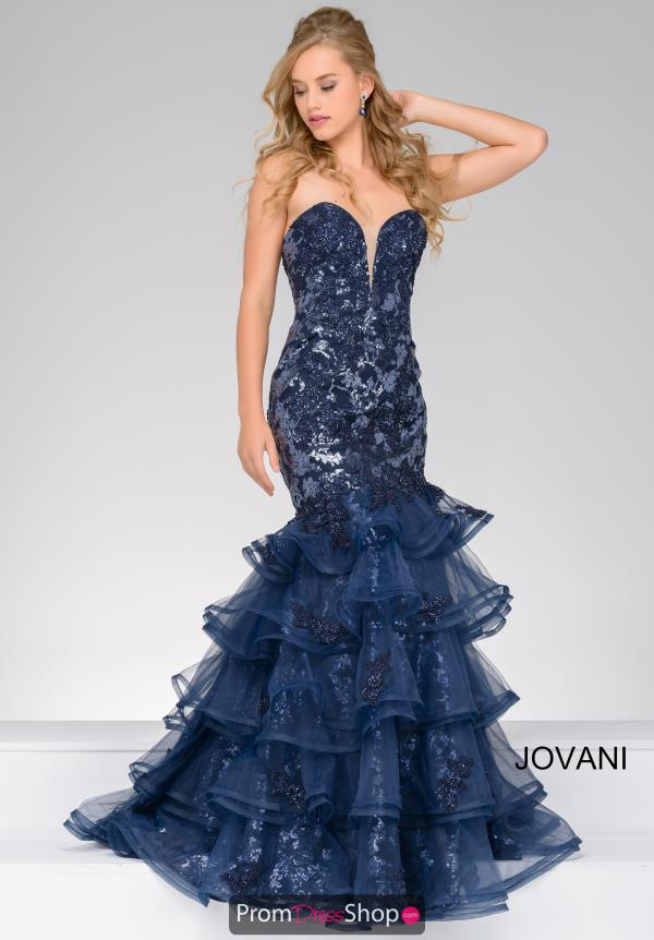 Jovani Beaded Long Dress 31021