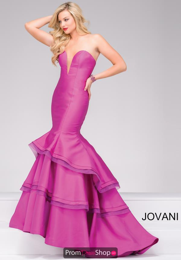 Jovani Long Fitted Dress 37099