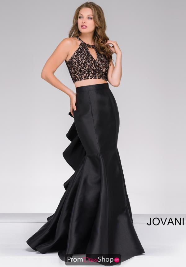 Lace Fitted JVN by Jovani Dress JVN41194