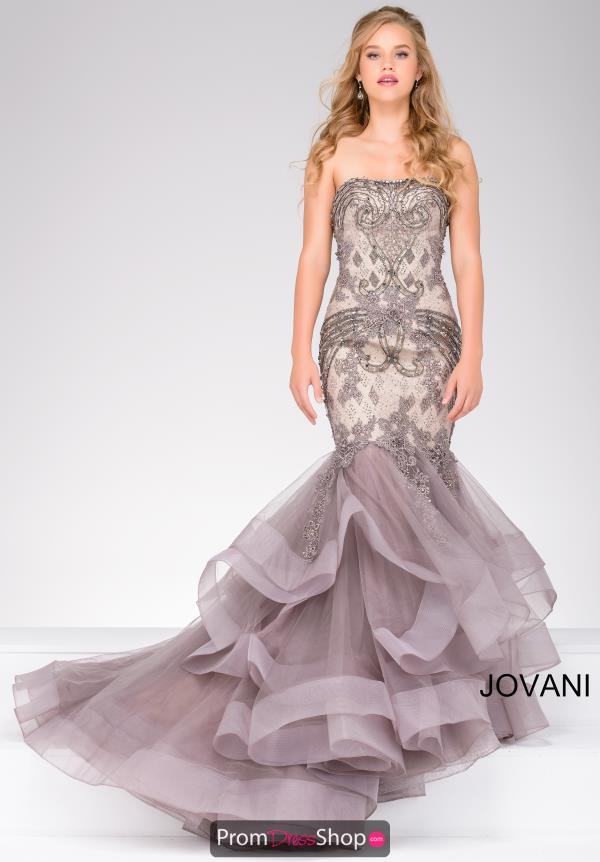 Strapless Lace Jovani Dress 45760