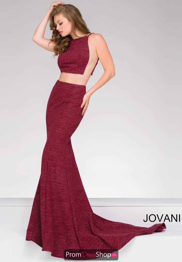 Long Jersey Jovani Dress 45931
