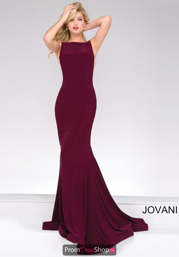 Jovani Long Jersey Dress 47100