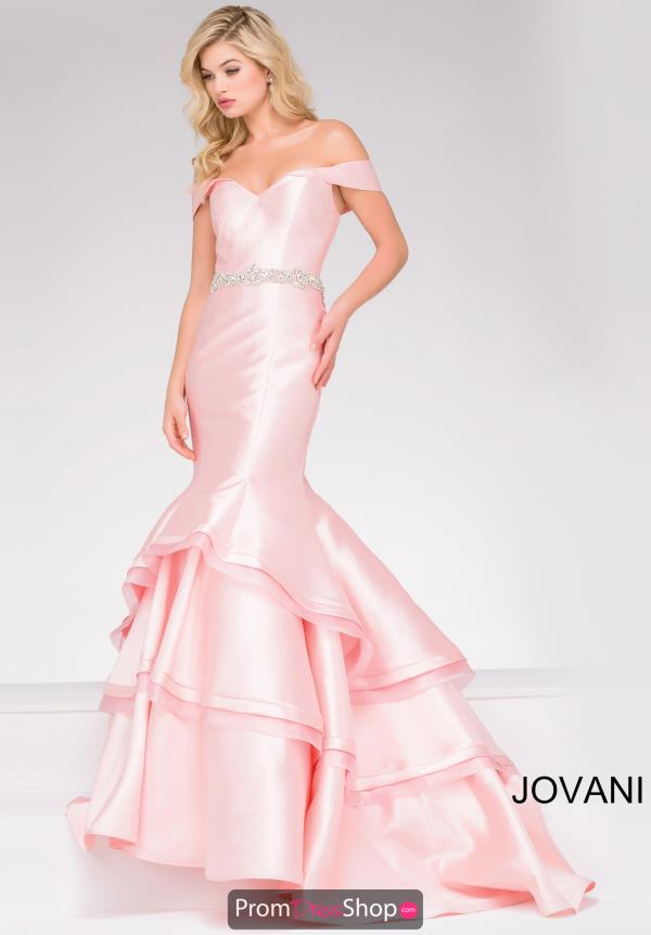 Jovani Taffeta Mermaid Dress 48609