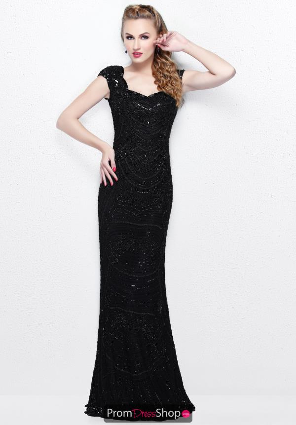 Primavera Long Fitted Dress 1681
