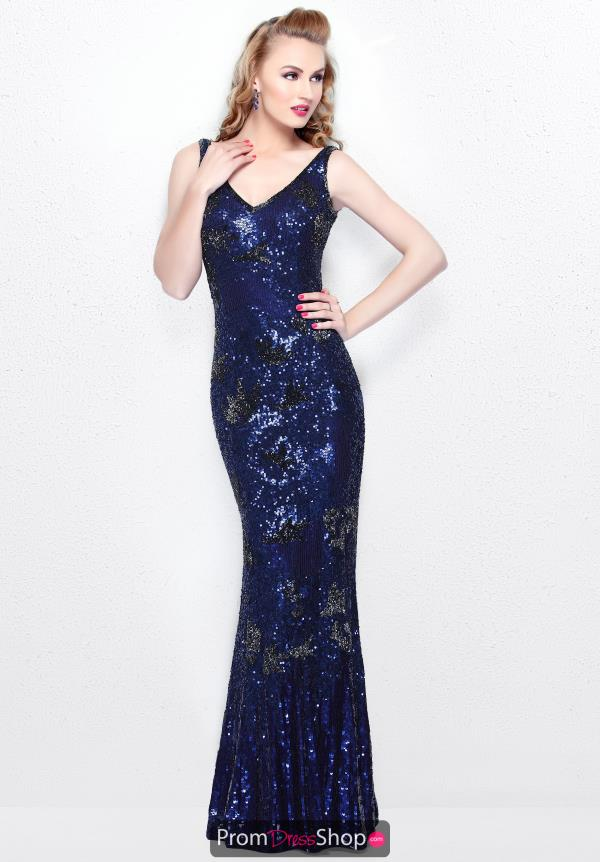 Primavera V Neckline Fitted Dress 1702
