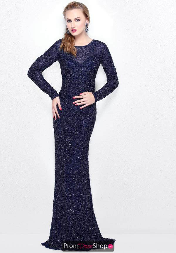 Primavera High Neckline Fitted Dress 1707