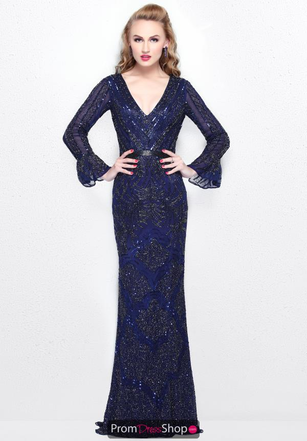 Primavera Long Fitted Dress 1724