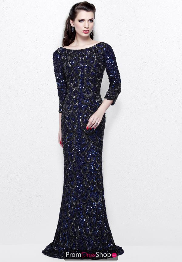Primavera Long Beaded Dress 1747