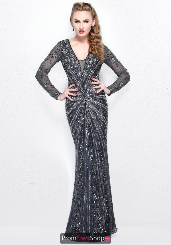 Primavera Long Fitted Dress 1755