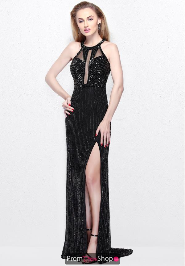 Primavera Halter Neckline Beaded Dress 1816