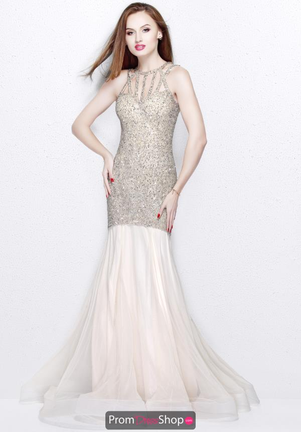Primavera Net Beaded Dress 1826