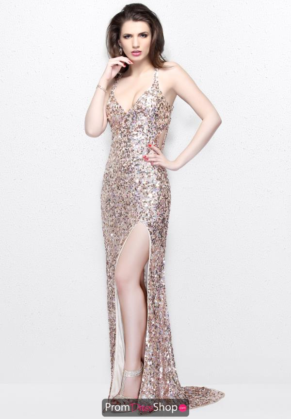 Primavera Long Beaded Dress 9877