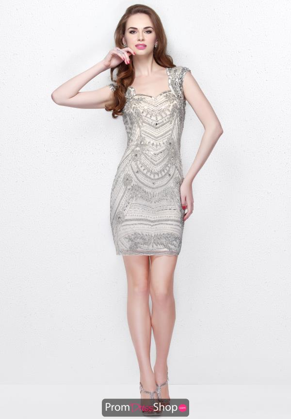 Primavera Fitted Short Dress 1601