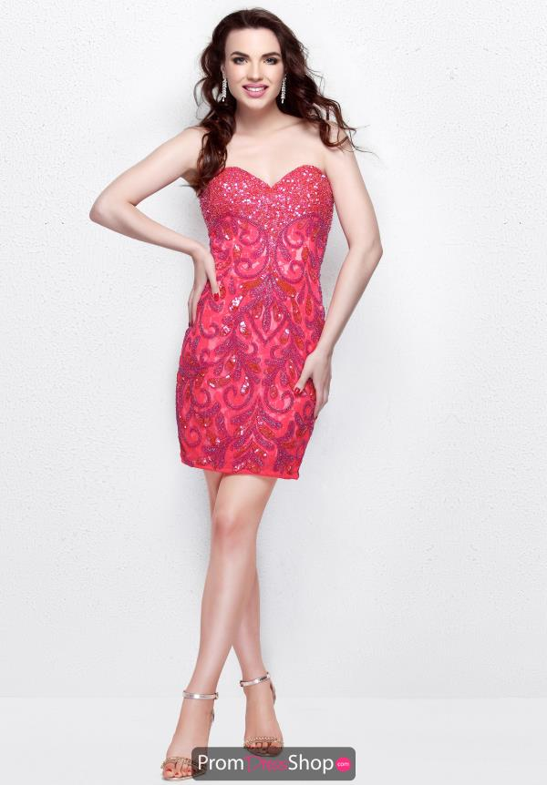 Primavera Short Beaded Dress 1630