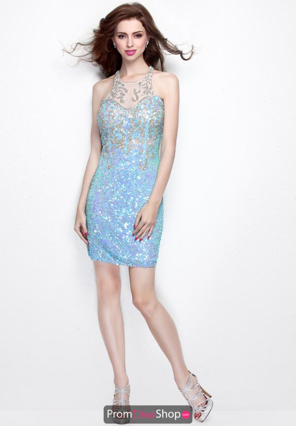 Primavera Short Beaded Dress 1648