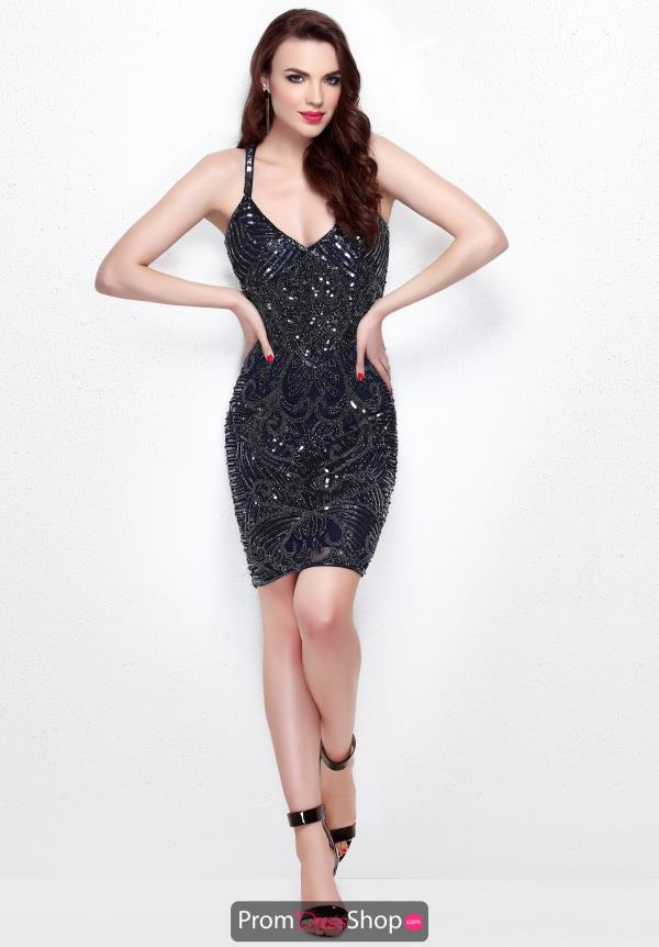 Primavera Short Beaded Dress 1662