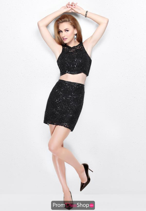 Primavera Short Beaded Dress 1696