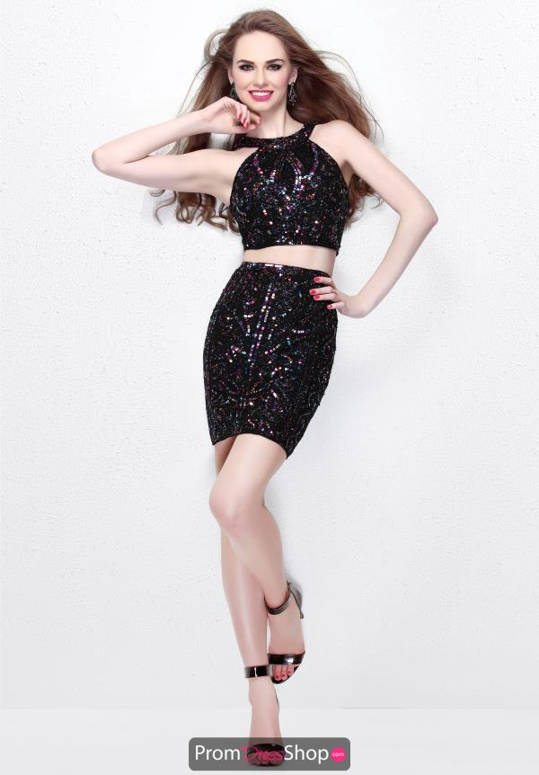 Primavera Fitted Two Piece Dress 1667