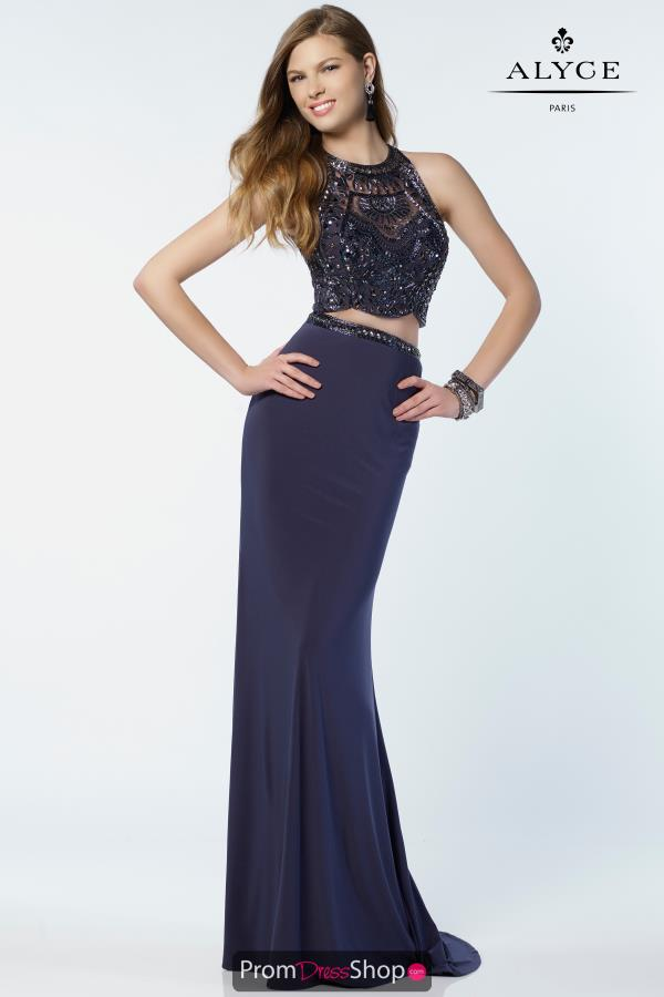 Alyce ParisTwo Piece Beaded Dress 6711