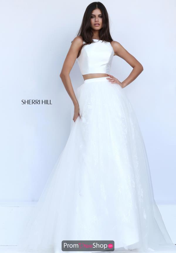Two Piece A Line Sherri Hill Dress 50787