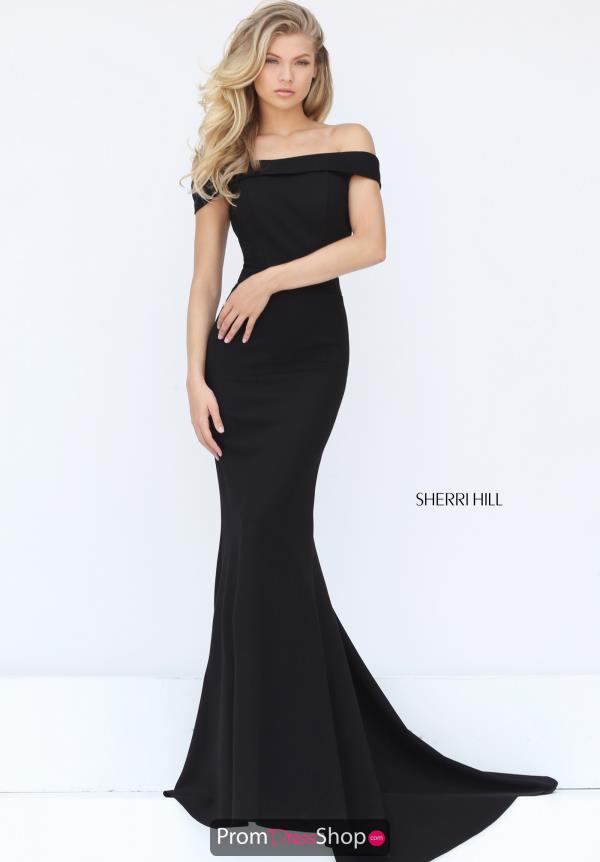 Long Fitted Sherri Hill Dress 50824