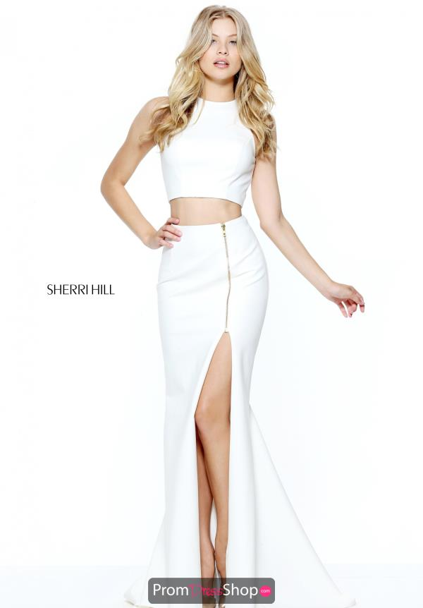 Two Piece Fitted Sherri Hill Dress 50881