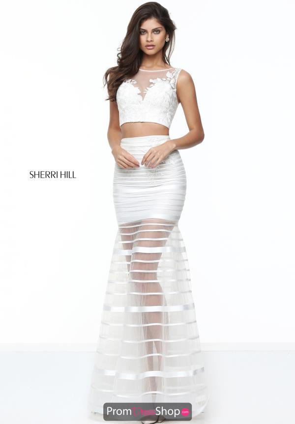 Two Piece Fitted Sherri Hill Dress 50649