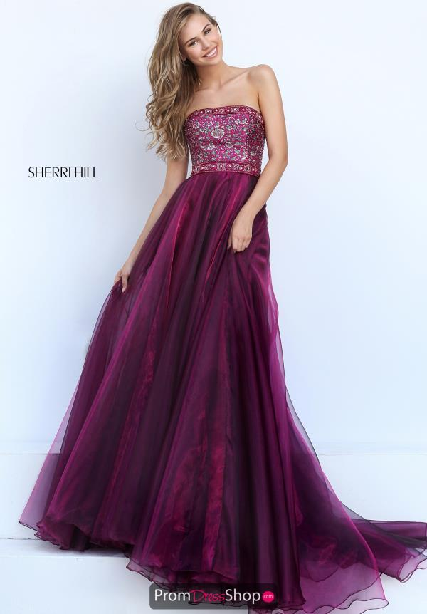 Sherri Hill Long A Line Dress 50779