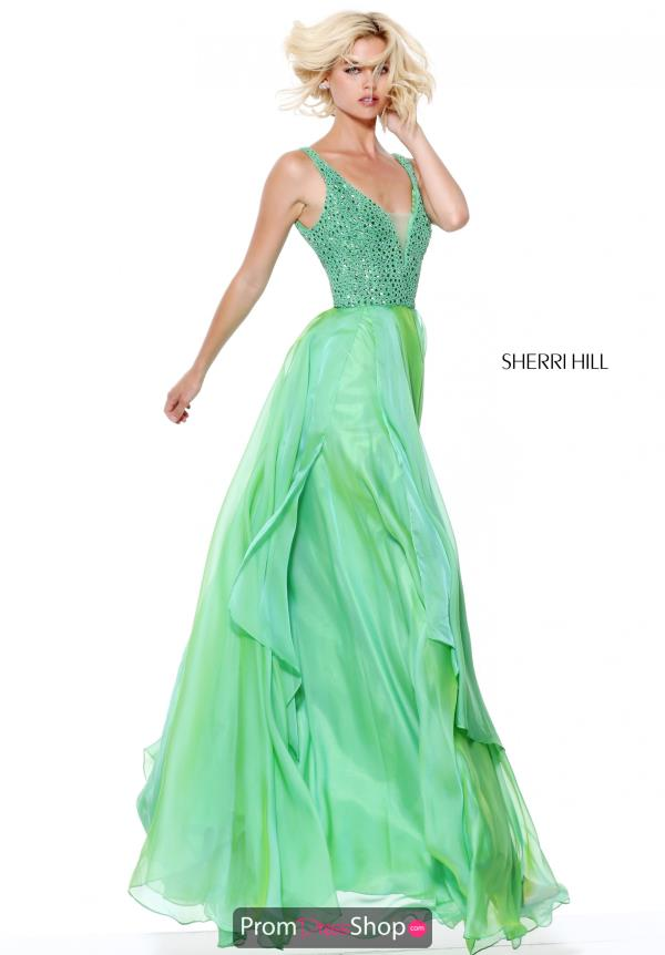 Sherri Hill Long A Line Dress 50801