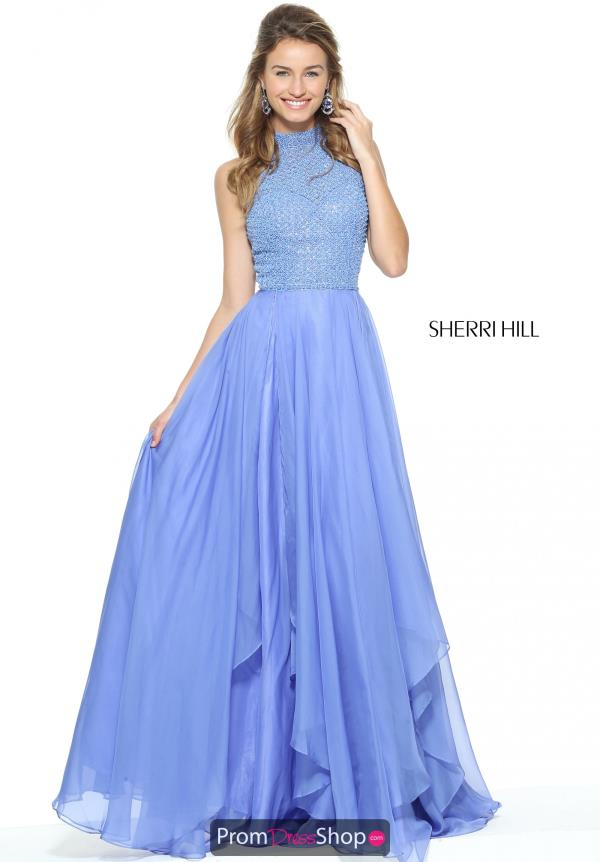 Sherri Hill Long A Line Dress 50808