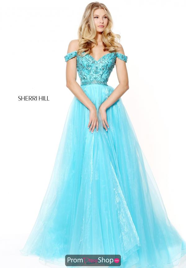 Sherri Hill Long A Line Dress 50832