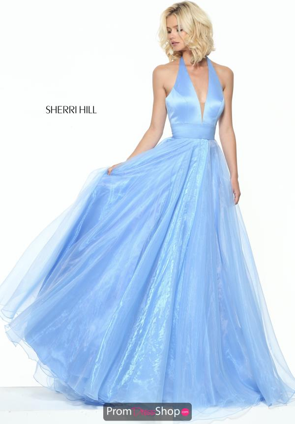 Sherri Hill Organza Long Dress 50834