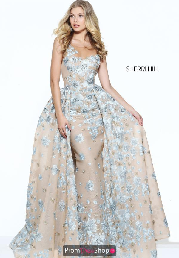 Long Fitted Sherri Hill Dress 50837