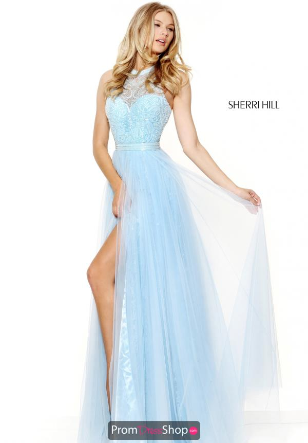 Long Lace Sherri Hill Dress 50859