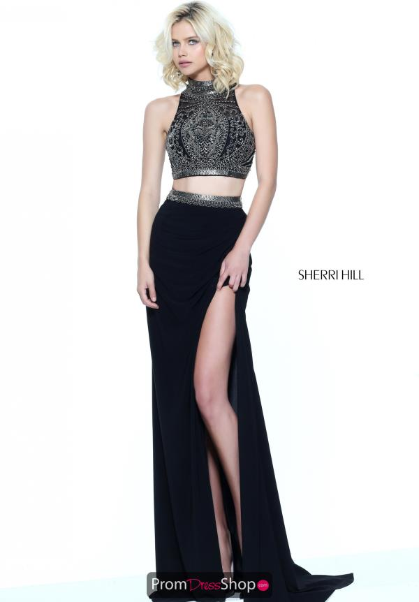 Sherri Hill Two Piece Fitted Dress 50891