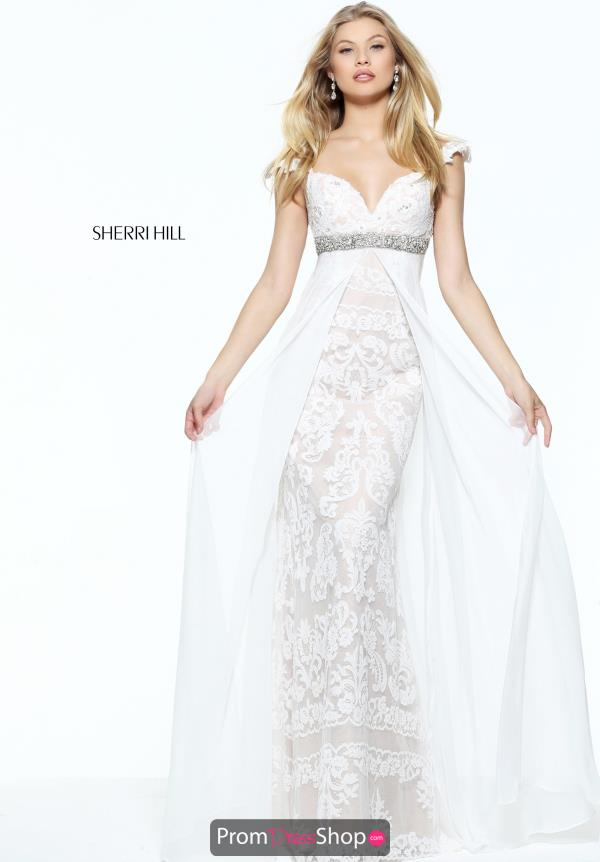 Sherri Hill Long Beaded Dress 50927