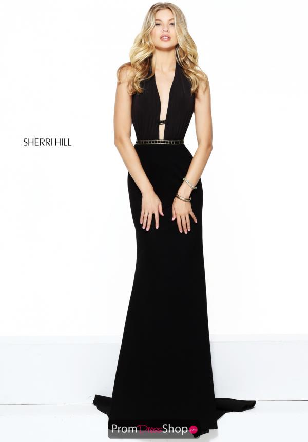 Sherri Hill Long Fitted Dress 50936