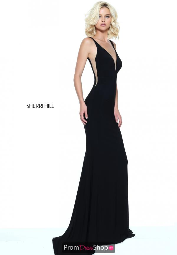 Sherri Hill Fitted Jersey Dress 50940