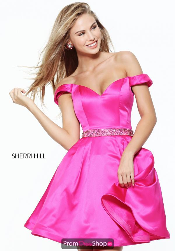 Sherri Hill Short A Line Dress 50815