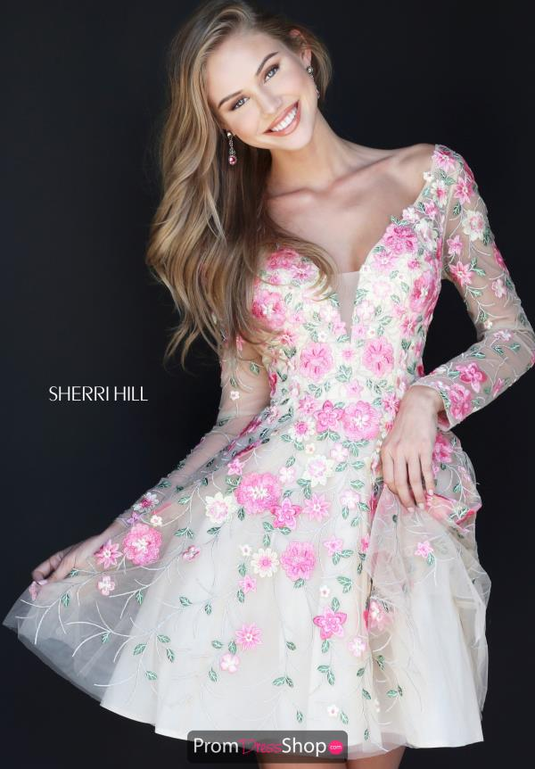 Sherri Hill Short Dresses at Prom Dress Shop.