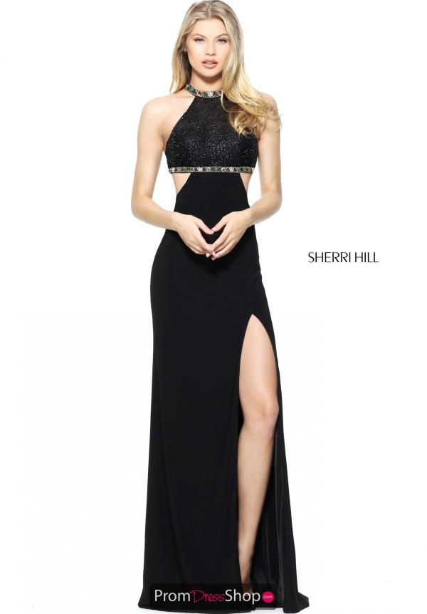 Sherri Hill Long Fitted Dress 50980
