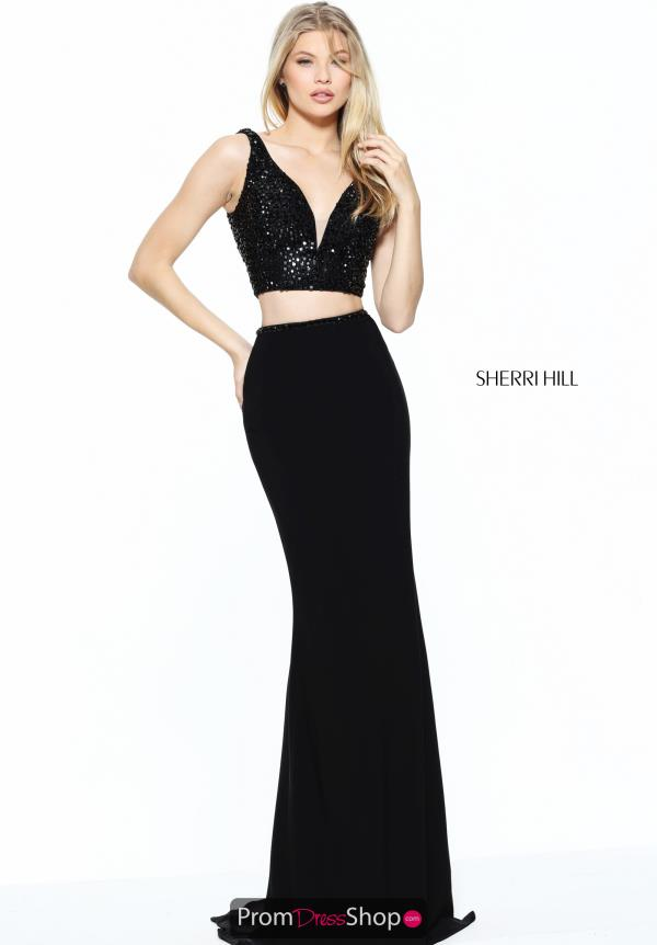 Sherri Hill Long Jersey Dress 50996