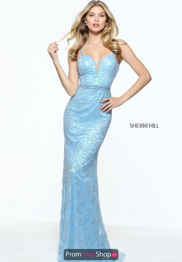 Sherri Hill Long Fitted Dress 51074