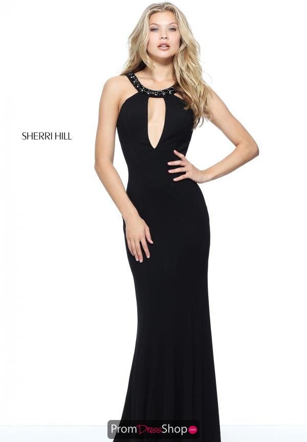 Sherri Hill Sexy Long Dress 51080