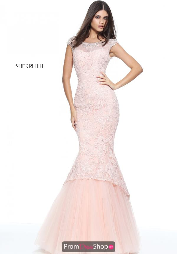 Sherri Hill Long Fitted Dress 51114