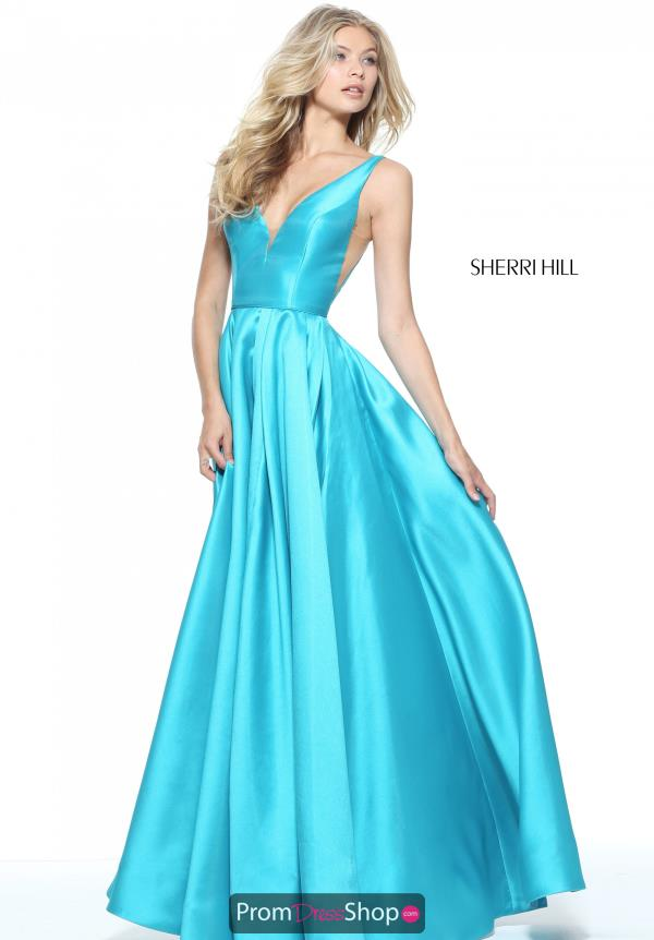 Sherri Hill Long A Line Dress 51120
