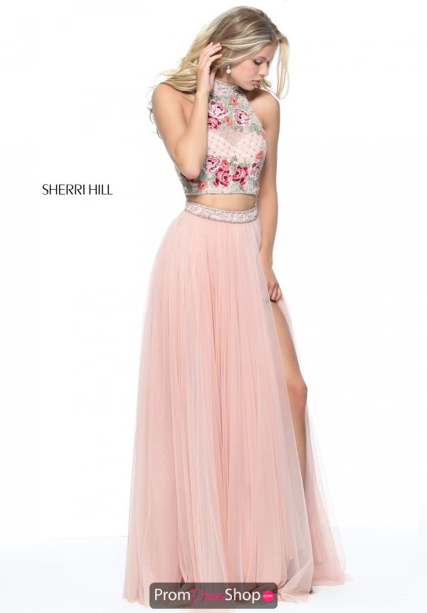 Sherri Hill Two Piece A Line Dress 51121